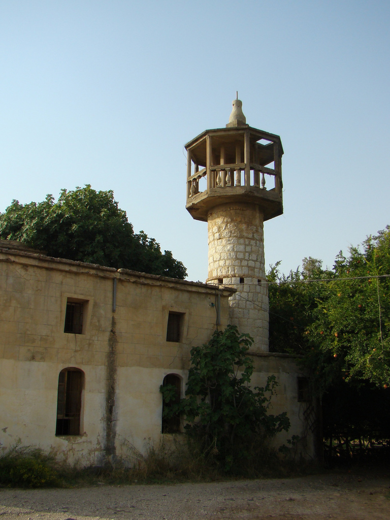 Banyas mosque in Caesarea Philippi