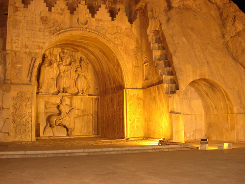 Middle East landmarks, UNESCO Tagh Bostan