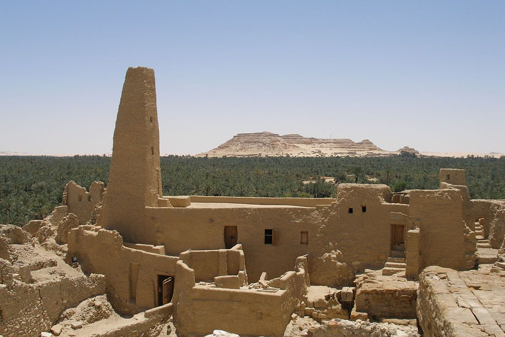 Siwa attractions, Temple of Amun