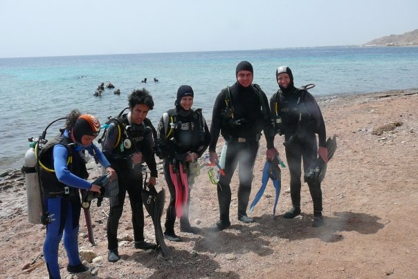 diving in egypt, OW Padi certification