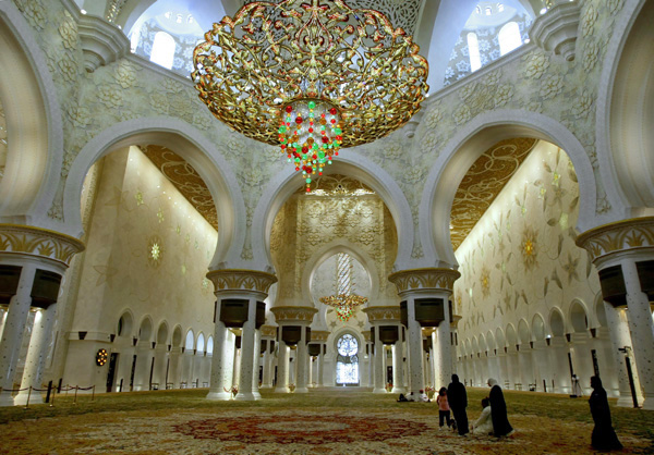 mosques in the Middle East, Sheikh Zayed