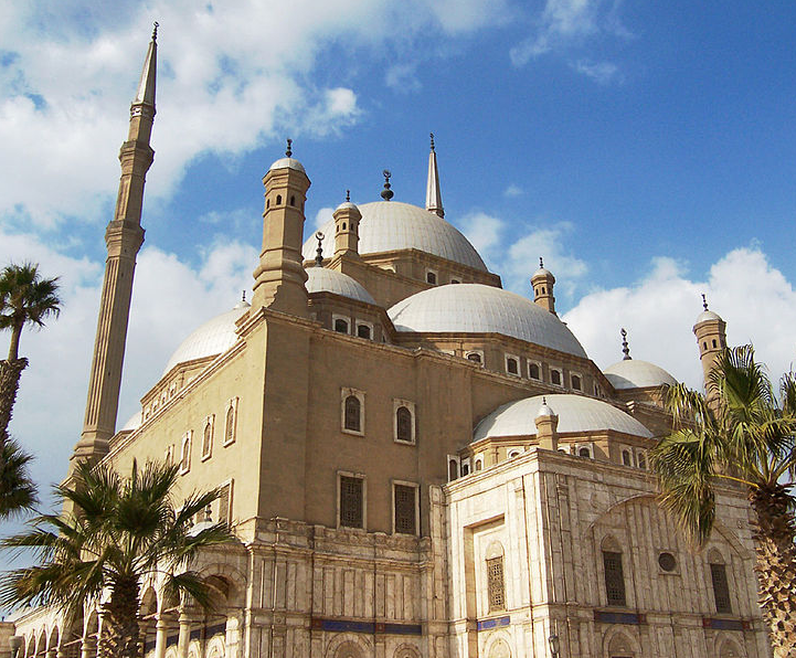mosques in the middle east, citadel