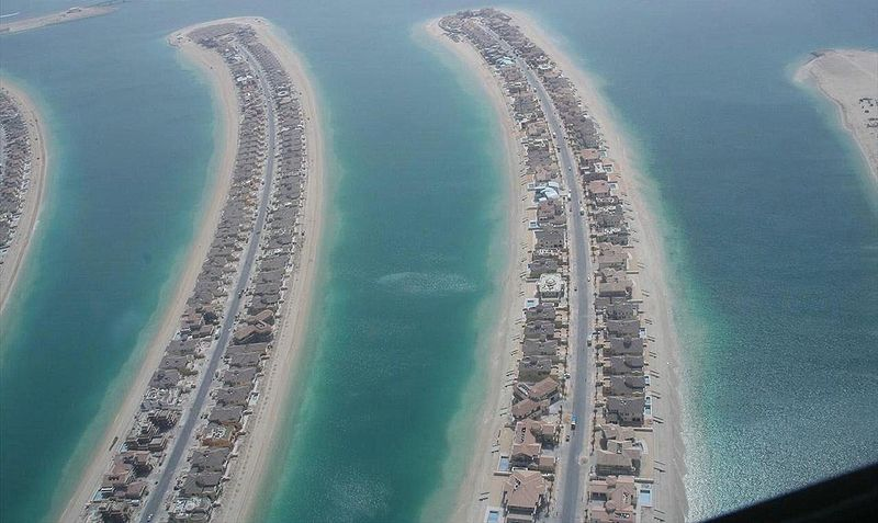 Palm Jumeirah's Fronds