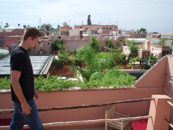 Marrakesh riad rooftop