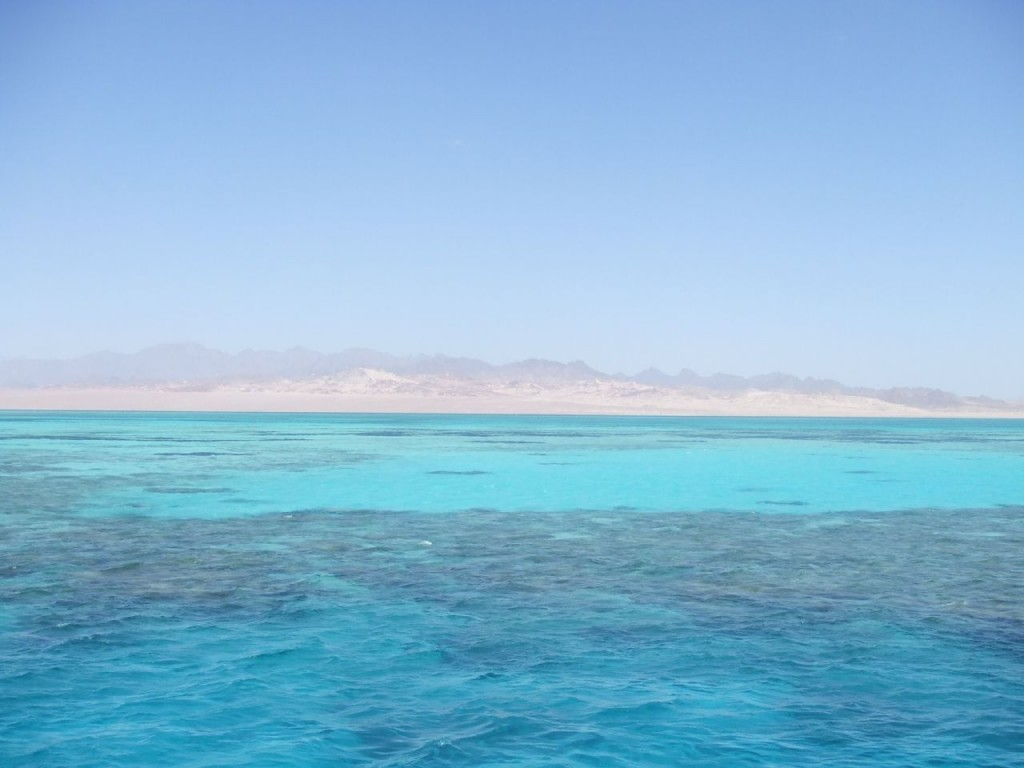 Ras Mohammed camping, beautiful Red Sea