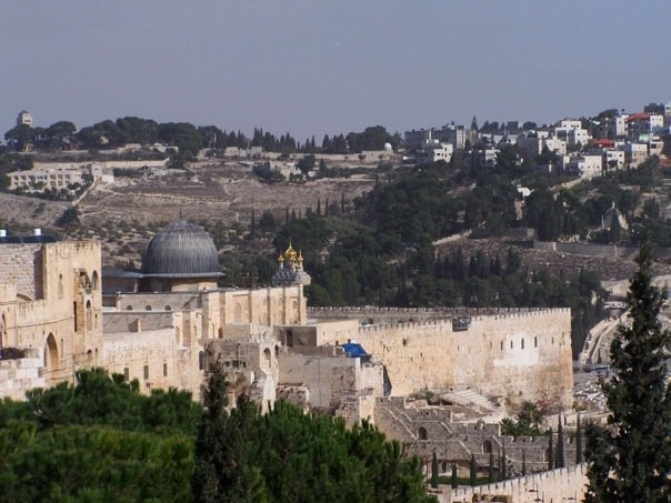 things to do in Jerusalem, Ramparts Al Aqsa view