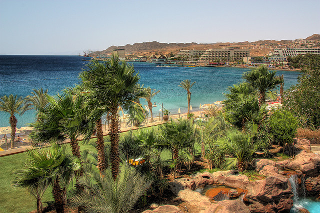 Middle Eastern road trip, Eilat coast