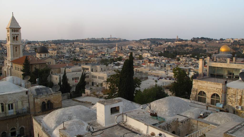 Middle Eastern road trip, Old Jerusalem views