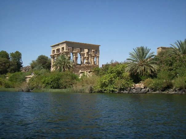 Philae Temple from the Nile River