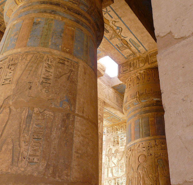Middle Eastern sites, Medinet Habu