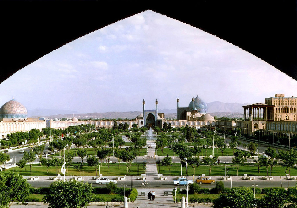 Why I want to visit Iran, Naghsh-i Jahan Square